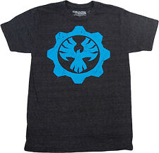 Gears of War 4 Phoenix Omen Cog Men's Charcoal T-Shirt New Official Licensed Men