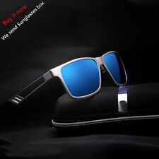 HD Men's Polarized Driving Sunglasses Sports Mirrored Glasses Fashion Eyewear