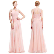 Hot Evening Formal Party Ball Gown Prom Bridesmaid Long Chiffon Dress Cocktail