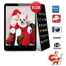 "N98 9"" Inch Android 4.4 Tablet Quad Core 1GB+8GB WiFi US Plug White Beauty PC*"
