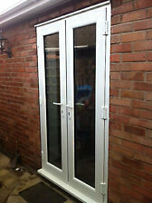 White uPVC Patio French Door 1000-1200mm wide - NEW (Not flat pack)