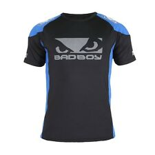 Bad Boy Performance Walkout 2.0 T-shirt Badboy Blue Black MMA BJJ Training Fight