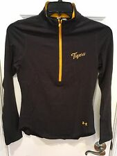 University of Missouri Tigers Under Armour 1/2 Zip Ladies Top Shirt New with Tag