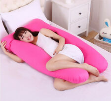Large U Shaped Contoured Body Pregnancy Nursing Maternity Pillow Cozy Comfort~~~
