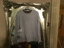 Ted baker age 13-14 yrs blue  long SLEEVE TOP  with BAKER LOGO ON FRONT SIDE NEW