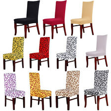 Wedding Supply Party Banquet Stretch Spandex Lycra Stretch Chair Covers Decor NW