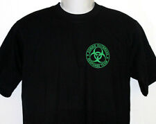 Zombie Outbreak Response Team T-Shirt Black with Green Print