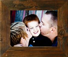 """NEW 3"""" RUSTIC COUNTRY FARMHOUSE MONTANA STAIN BARNWOOD PICTURE PHOTO FRAME DECOR"""