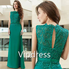 Mother Of The Bride Dresses Lace Appliques Sleeveless Formal Evening Dresses New