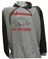 Arkansas Razorbacks NCAA Majestic Pullover Vintage Look Hoodie Big & Tall Sizes
