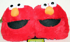 RED SESAME STREET ELMO Muppets plush ADULT Costume Slippers soft shoes Small