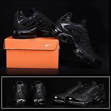 Nike Air Max Plus TN KPU Tuned Men Sneakers Trainers Running Shoes All Black