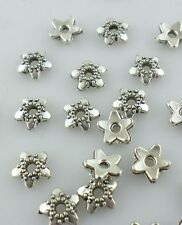 160/1300pcs Tibetan Silver Charm End Bead Caps Jewelry Findings Making