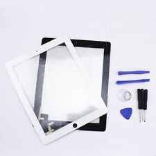 New Touch Screen Glass Digitizer Lens Replacement For iPad 2 2nd Gen + Tools