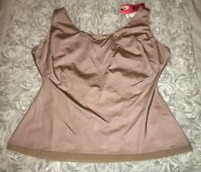 Womens XL 3X SPANX Nude Slimplicity Scoop Neck Cami Control Shapewear Tank Top
