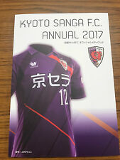 Japan KYOTO SANGA J.League 2017 YEARBOOK team guide Kevin ORIS Tulio Nunobe