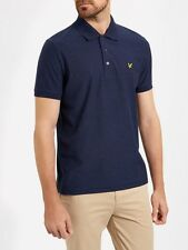Lyle And Scott Mens Brushed Flecked Polo SP603V-Navy