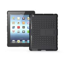 Premium Armor Stand Case for iPad 2 3 4 Cover ,Hybrid TPU+PC Back Cover for Appl