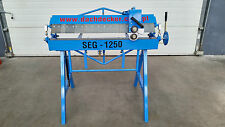 BOX AND PAN SHEET METAL FOLDER BENDING BRAKE OF SEG TYPE  1500MM /1.2MM