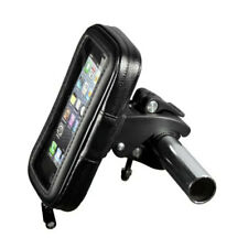 Black Bike Bicycle Motorcycle Phone Case Bag Handlebar Mount Holder Waterproof
