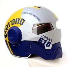 Masei Attomicman 610 Corona Extra Beer Vintage Motorcycle Snell Helmet All Sizes