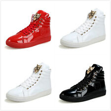 Mens Hi Tops Trainers New Designer Fashion  Ankle Boots Shoes Size