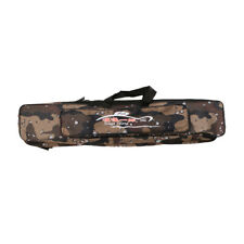 Camo Fishing Tackle Bags Fishing Rod Holdall Bags Padded Luggage Carry Case