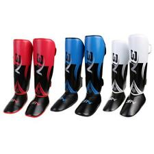 Leg Guards Shin Guards MMA Thai Shin Instep Pads Catchers Leg Foot Guards