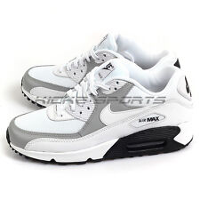 Nike Wmns Air Max 90 White/White-Wolf Grey-Black 325213-126 Running Shoes 2017