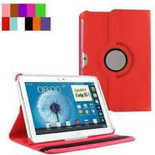 "Magnetic Rotate PU Leather Smart Case For Samsung Galaxy Note 10.1"" N8000 N8010"
