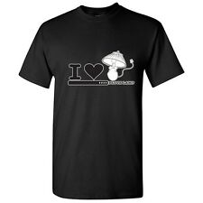 I Love Lamp Sarcastic Humor Graphic Gift Idea Cool  Funny Novelty T-Shirt