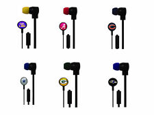 NFL NCAA MLB Ear Buds Phones Smart Phone Android iOs