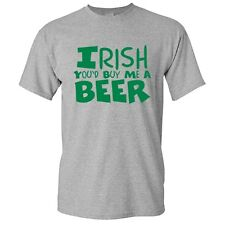 Irish Beer Sarcastic St.Party's Drinking Adult Humor Cool Funny Novelty T-Shirts