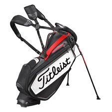 Titleist Japan Golf Caddy Carry Staff Stand Bag 9.5inch TB7SXSF Tour Model Black