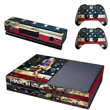 AMERICAN GIRL USA FLAG SKIN VINYL WRAP DECAL STICKER XBOX ONE