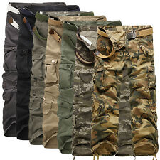 Stylish Men's Pants Casual Camouflage Cotton Pants Loose Straight Trousers
