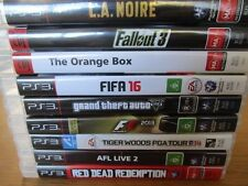 Ps3 Game Playstation 3 Games Assorted Games *Free Post Bulk Lot Games Choose Ps3