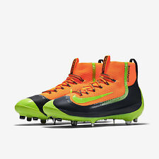 Nike Air Huarache 2K Filth Elite Mid Metal Baseball Cleats 9.5 Orange 749359-870