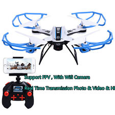 FPV Wifi Remote Control Drone Camera RC Quadcopter Toy Helicoptero Airplane Gift