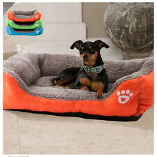 Cushion Large Pet Dog Cat  Bed Cozy Soft House Kennel Crate Warm Mat Pad Cage