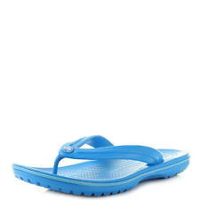 Mens Crocs Crocband Flip Ocean Electric Blue Comfort Iconic Flip Flops UK Size