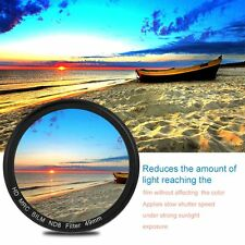 49/52/55/58/62/67/72/77MM Thin Waterproof ND8 Camera Lens Filter For Canon F7