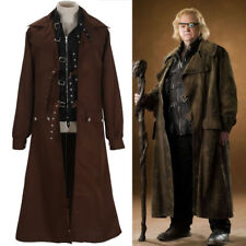 Harry Potter Cosplay Alastor Moody Costume Mad-Eye Trench Coats Sets Costume