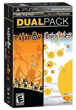 NEW! Patapon & LocoRoco Dual Pack for PSP Sony PlayStation Portable NEW & SEALED