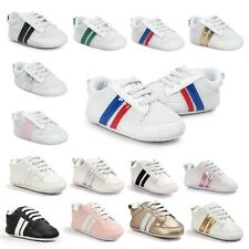 Infant Toddler Stylish Sneaker Baby Boy Girl Crib Shoes Newborn to 18 Months Hot