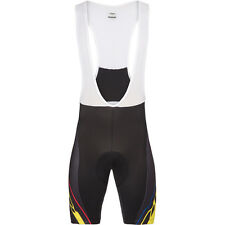 Look Pro Team Bib Shorts - Black/Yellow