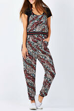 NEW Coop Womens Jumpsuits Dungaree Doll Wave