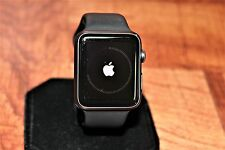 AS IS Apple Watch Sport 42mm Space Gray Aluminum Case Black Sport Band MJ3T2LL/A