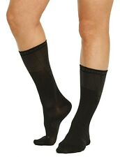 2 Pair Tommie Copper Women's Energize Recovery Compression  Crew Socks Med