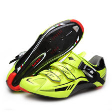 Santic Road Cycling Shoes Carbon Fiber Sole Self-lock Athletics Bicycle Shoes